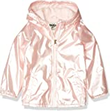 OshKosh B'Gosh girls Midweight Hooded Fashion Coat With Fleece Lining Jacket
