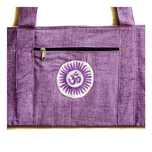 Vrindavan Store Yoga Mat Bag, LG Top Zipper: Amazon.es: Hogar