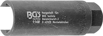 """Einsatz für Lambdasonde Innenvierkant 10mm 3//8/"""" SW 22mm"""