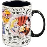 Disney Parks Exclusive Alice In Wonderland Character Coffee Mug