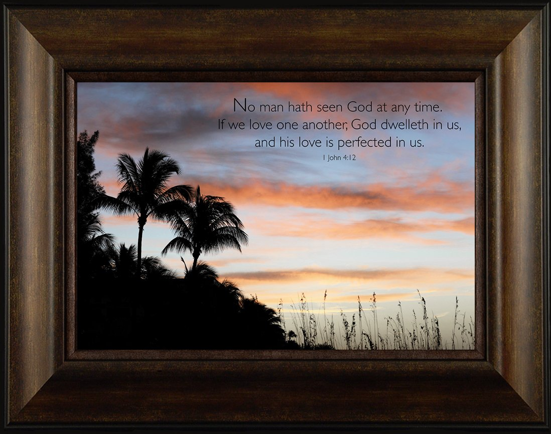 Amazon com: Love One Another By Todd Thunstedt 20x26 1 John 4:12