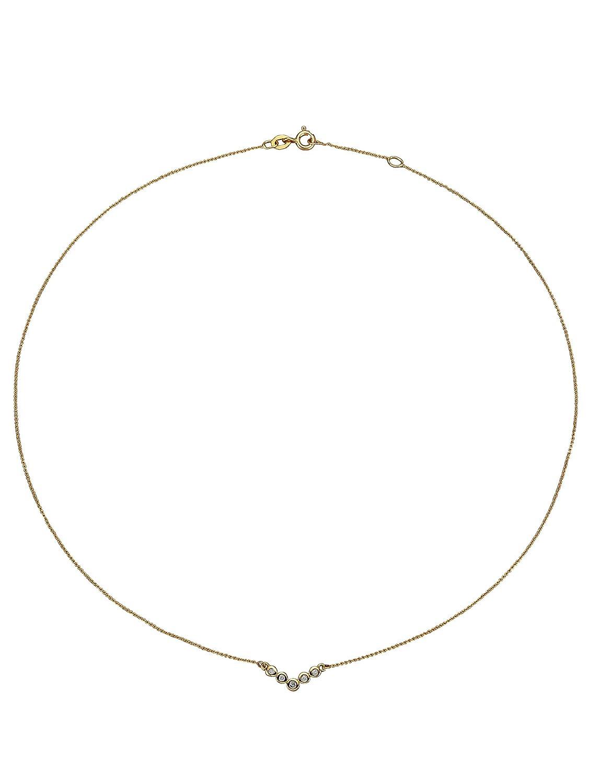 WENZ Damen Diamant-Collier Ketten