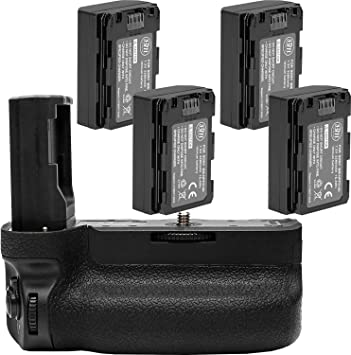 A7RIII Digital SLR Camera A7III Pro Series Multi-Power VG-C3EM Replacement Battery Grip for Sony Alpha A9