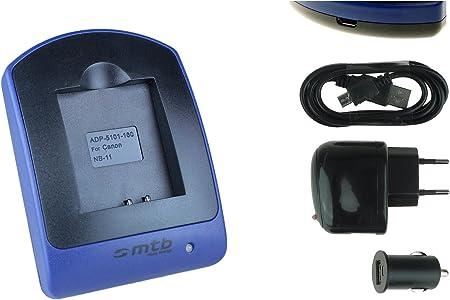 Cargador micro USB para CANON POWERSHOT SX230 HS