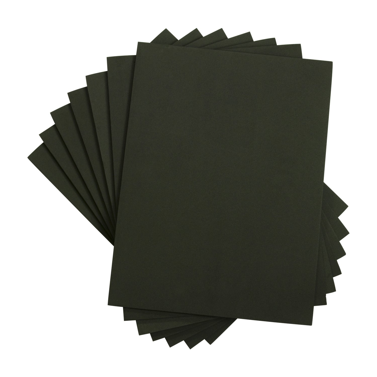 Houseables Crafts Foam Sheets, Art Supplies, EVA, 6mm Thick, Black, 9 X 12 inch, 10 Pack, Paper Scrapbooking, Cosplay, Crafting Foams Paper, Foamie Crafts, for Kids, Boy Souts, Halloween, Cushion FST-BK-0912