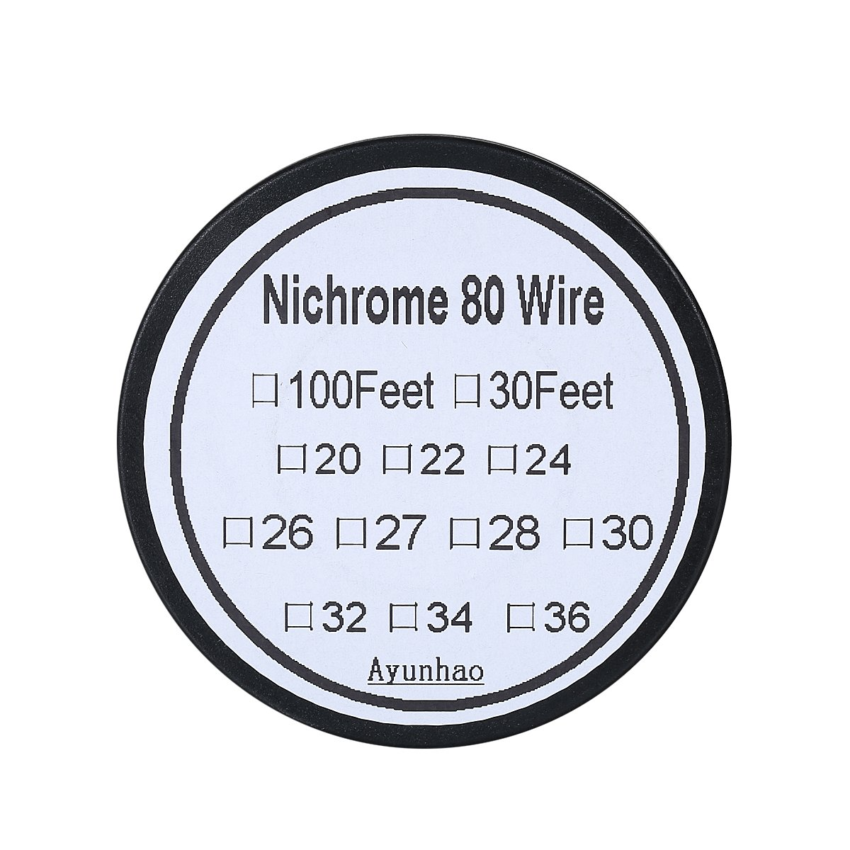 Nichrome 80 - 100 ft 34 Gauge AWG Widerstand Draht: Amazon.de ...