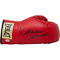 $392 » Marvelous Marvin Hagler Signed Red Everlast Right Hand Boxing Glove - PSA/DNA Certified - Autographed Boxing Gloves