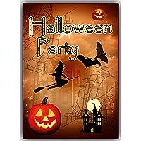 De Halloween Party Tarjetas de invitación Juego 12tarjetas