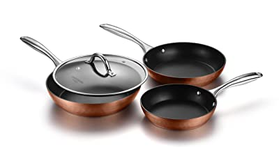 COOKSMARK Diamond-Infused Nonstick Induction Safe Cookware Set