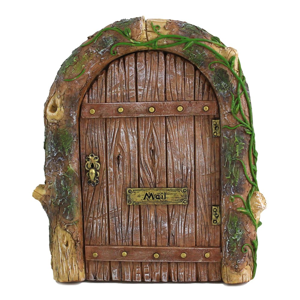 Top Collection Miniature Fairy Garden Mystical Gnome Home Door