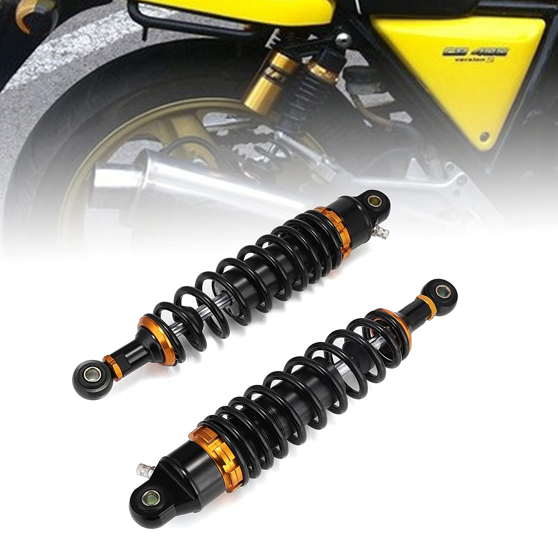 Neverland 125 320mm Motorcycle Rear Shock Absorber Air Suspension Seal Honda For Yamaha Ktm Black Shocks Amazon Canada