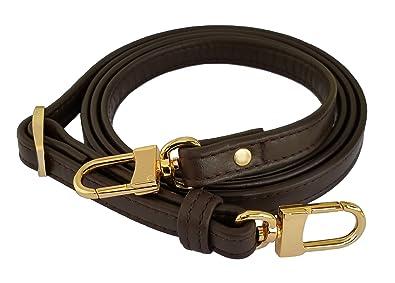 9bbdfa373b99 Mautto Dark Brown Genuine Leather Handbag Purse Adjustable Strap for ...