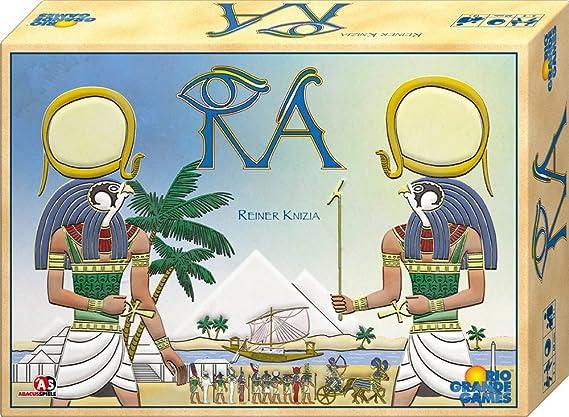 ABACUSSPIELE 13094 Ra - Juego de Mesa sobre Egipto (Contenido en alemán) [Importado de Alemania]: Knizia, Reiner: Amazon.es: Juguetes y juegos