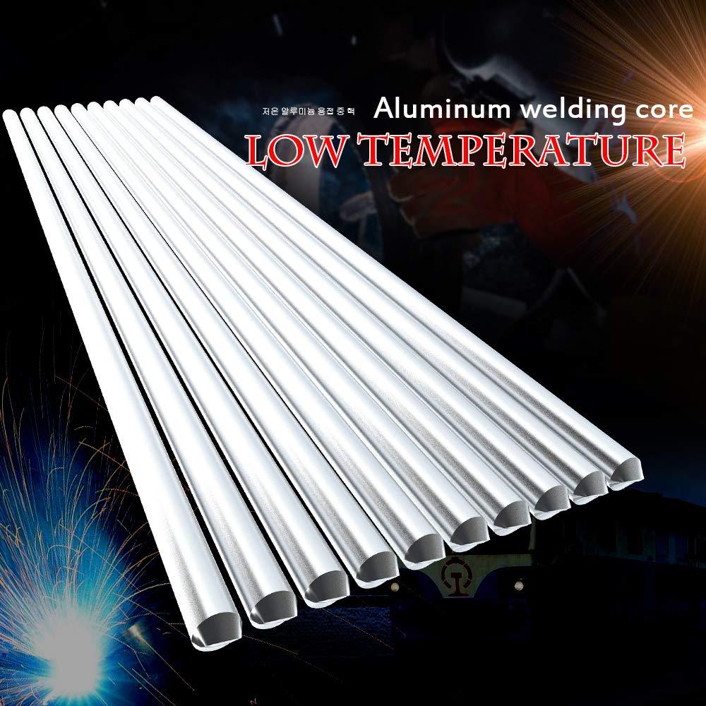 Fesjoy Schwei/ßdraht Niedertemperatur Aluminium Schwei/ßen Draht Flusskerne Al-Mg L/ötkolben Keine Notwendigkeit L/ötpulver