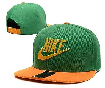 Nike snapback cappelli anodizzate (verde con logo giallo 8331ea2df831