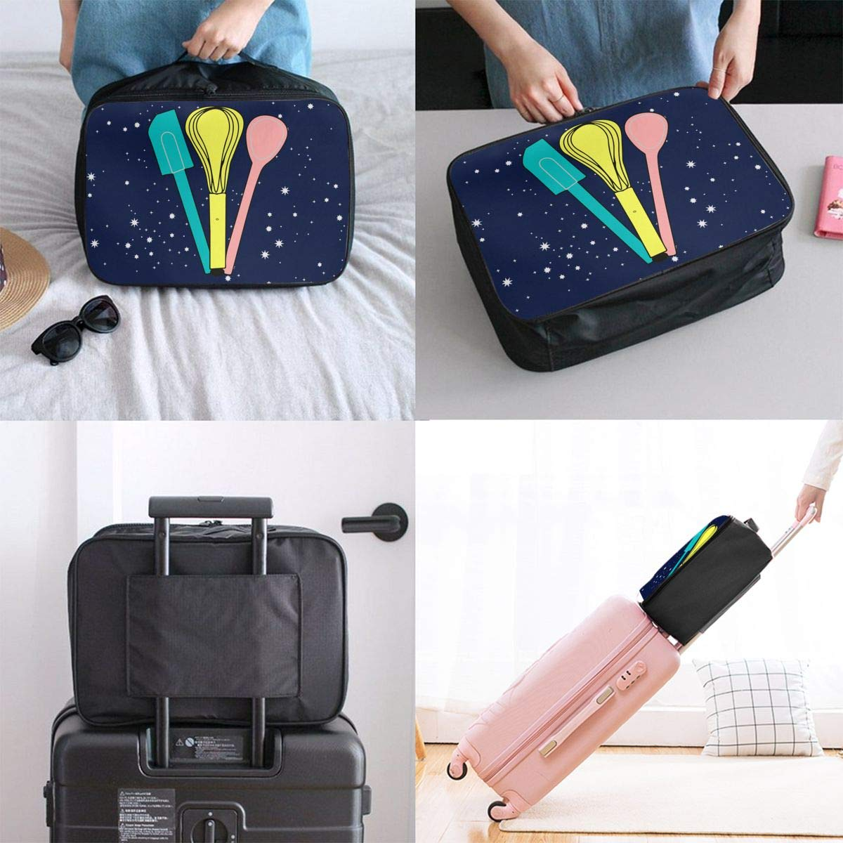 Baking Utensils Luggage Bag Capacity Portable Large Travel Duffel Bag Travel Organizer