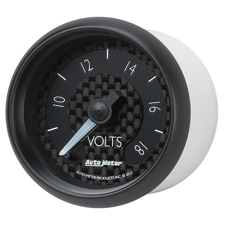 Auto Meter 8091 GT Series Electric Voltmeter Gauge