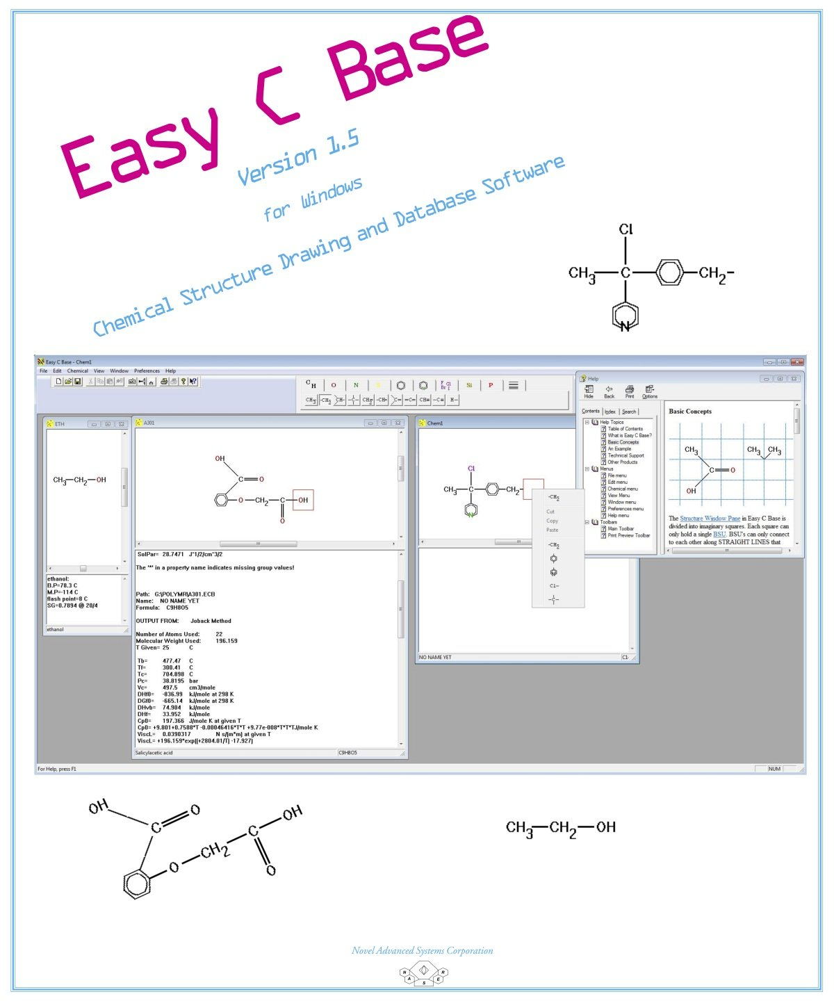 Easy C Base v1.5 [Download] by Novel Advanced Systems Corporation