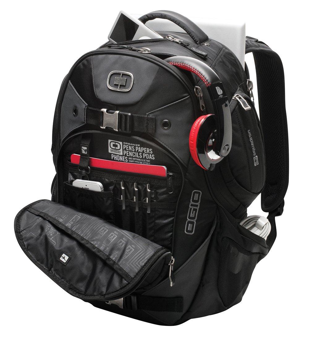 OGIO Squadron Pack Black 17'' Laptop / Macbook Pro Black Backpack by OGIO (Image #2)