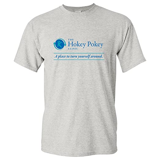 2b55b0482d2 Amazon.com  UGP Campus Apparel Hokey Pokey Clinic Basic Cotton T ...