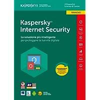Kaspersky Lab KL1941T5CFR-8SLIM Internet Security 2018 3 User Renewal  1 Year