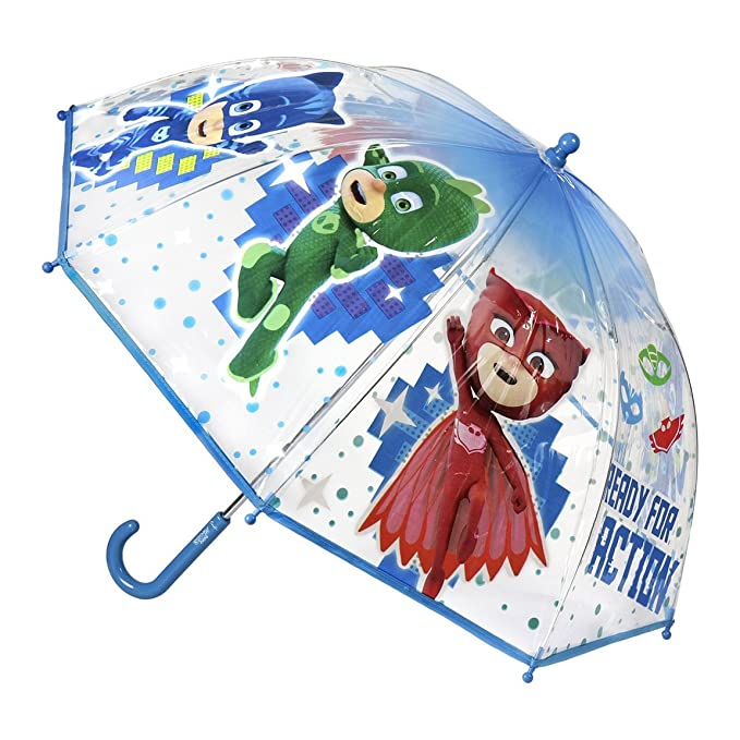Cerdá PJ Masks, Paraguas para Niños, (Azul 001), One Size (