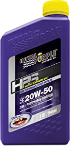 Royal Purple ROY31250 20W50 High Performance Street Motor Oil, 1 Quart