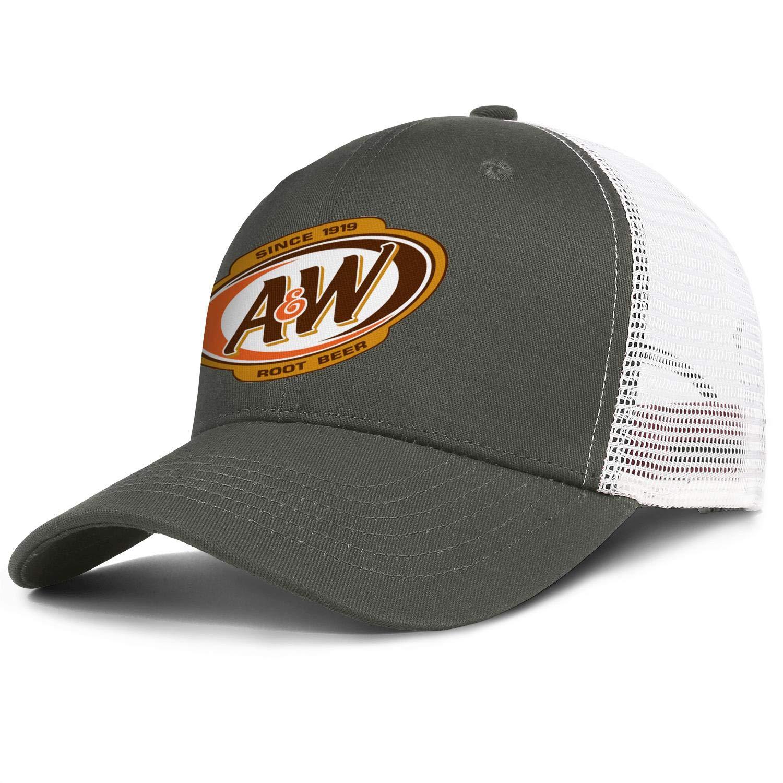 WintyHC A/&W Restaurants 1919 Cowboy Hat Trucker Hat One Size Gas Cap