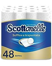 Scottonelle Carta Igienica Soffice e Trapuntata, Confezione da 48 Rotoli