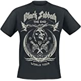 Black Sabbath The End Grim Reaper Camiseta Negro