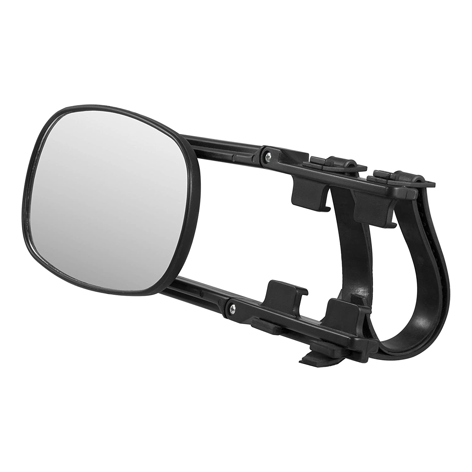 CURT 20002 5-Inch x 7-1//2-Inch Universal Strap-On Adjustable Extendable Towing Mirror