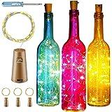 Botella clásica de vidrio con luz LED: Amazon.es: Salud y cuidado ...