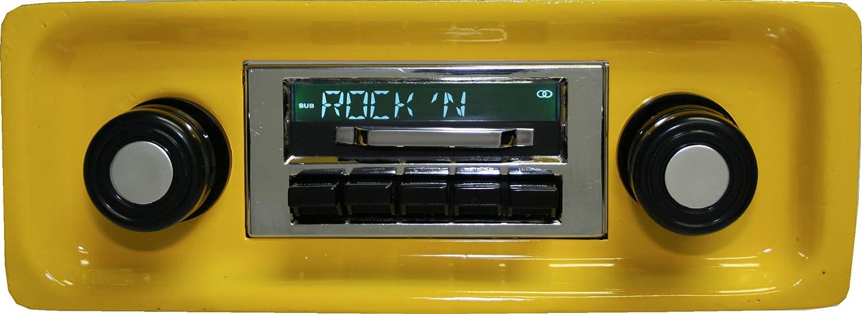 Bluetooth Enabled 67-72 Chevy Truck 300w Slidebar AM FM Car Stereo//Radio