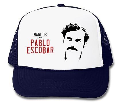 acheter authentique meilleur service moderne et élégant à la mode LukeTee Pablo Escobar Narcos Series Casquette De Camionneur ...