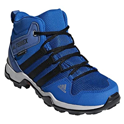 Adidas Sport Performance Kid's Terrex AX2R Mid CP Sneakers, Black, 3 Little Kid M