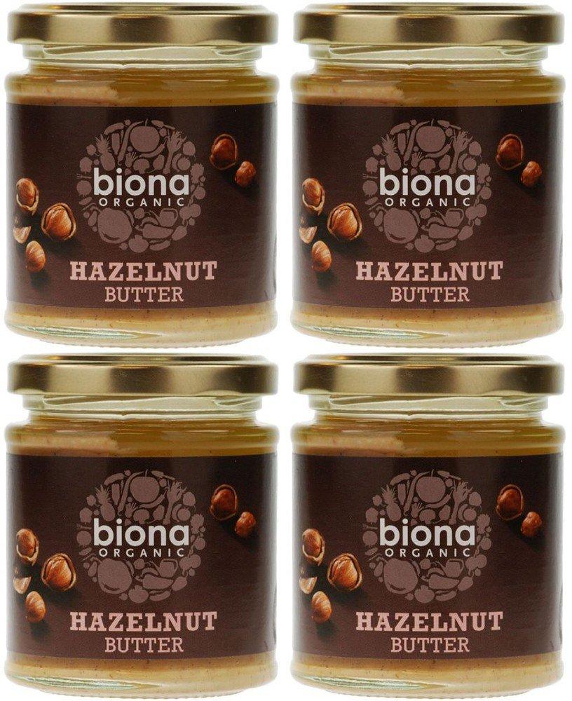 (4 PACK) - Biona - Organic Hazelnut Butter | 170g | 4 PACK BUNDLE
