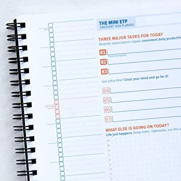 The Emergent Task Planner 3 Month Mini Notebook