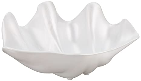 Amazon.com: winco psbw-1 W Shell cuencos, 20-ounce, Pearl ...