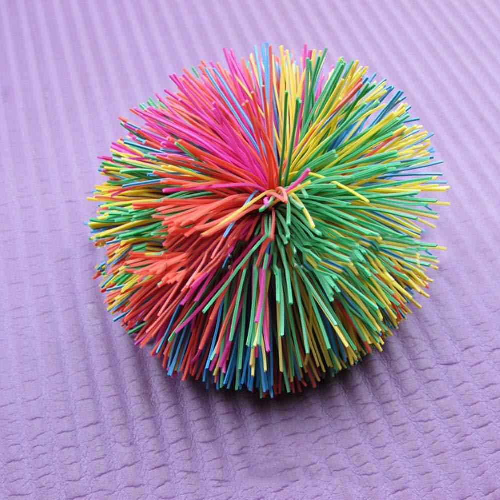 Aofocy Premium color/é extensible Fidget Sensory Stress Jouets Stringy Play Ball Soft Active Fun Toy 9cm