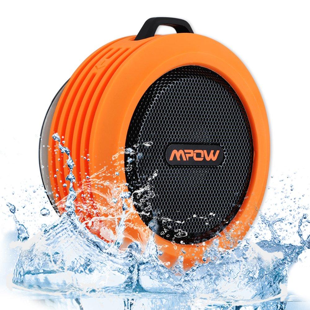 Mpow Buckler Altavoz Bluetooth Portátil Impermeable, 5W de Potencia, con...