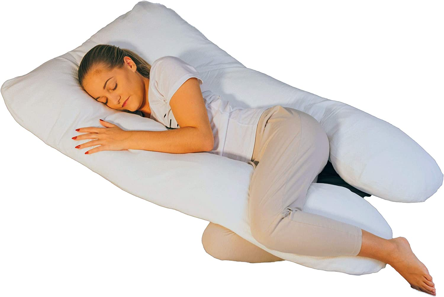 Hometex Full Body Pregnancy Pillow with