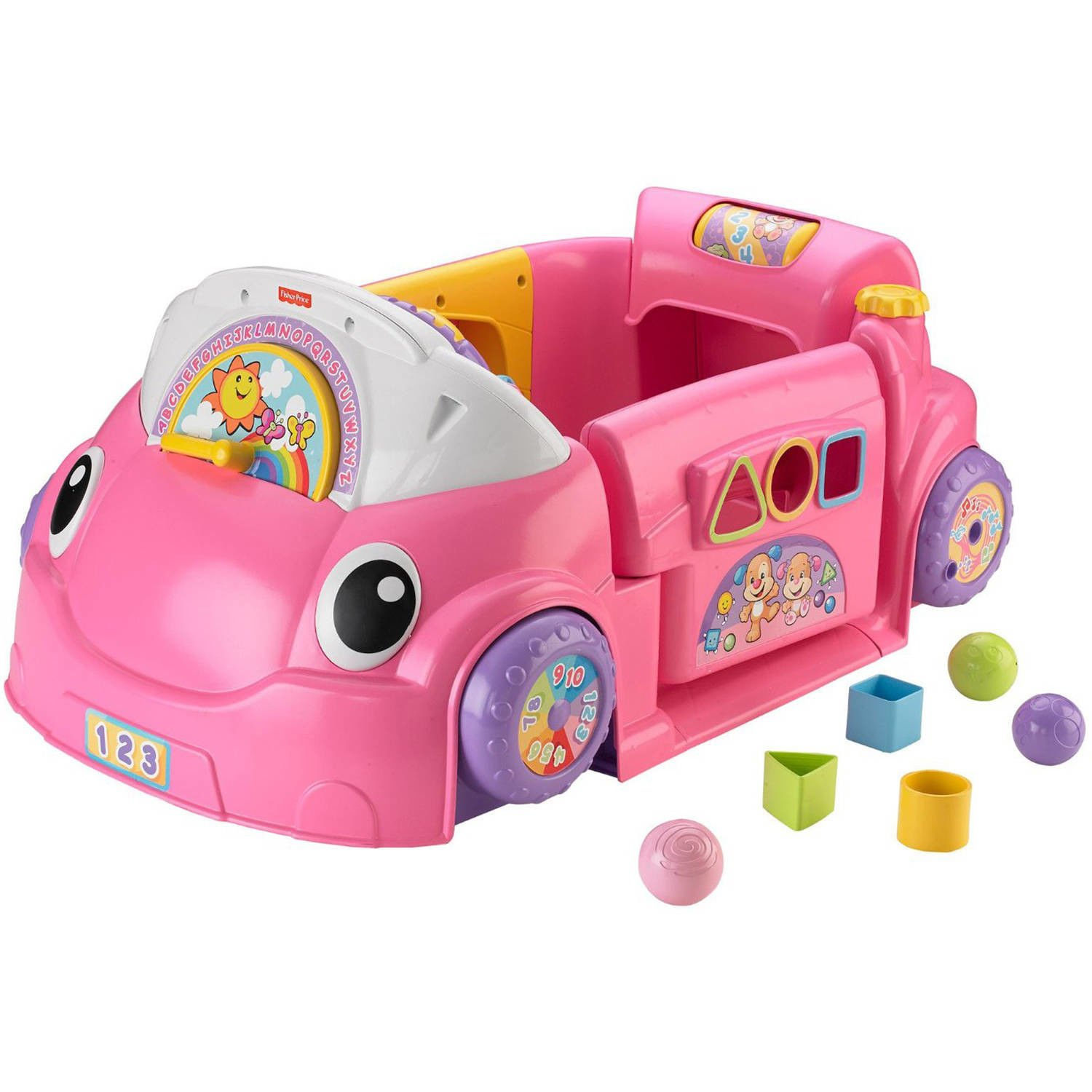 Crawl Around Car Pink Laugh Learn 75 Plus Sing Along Songs Tunes