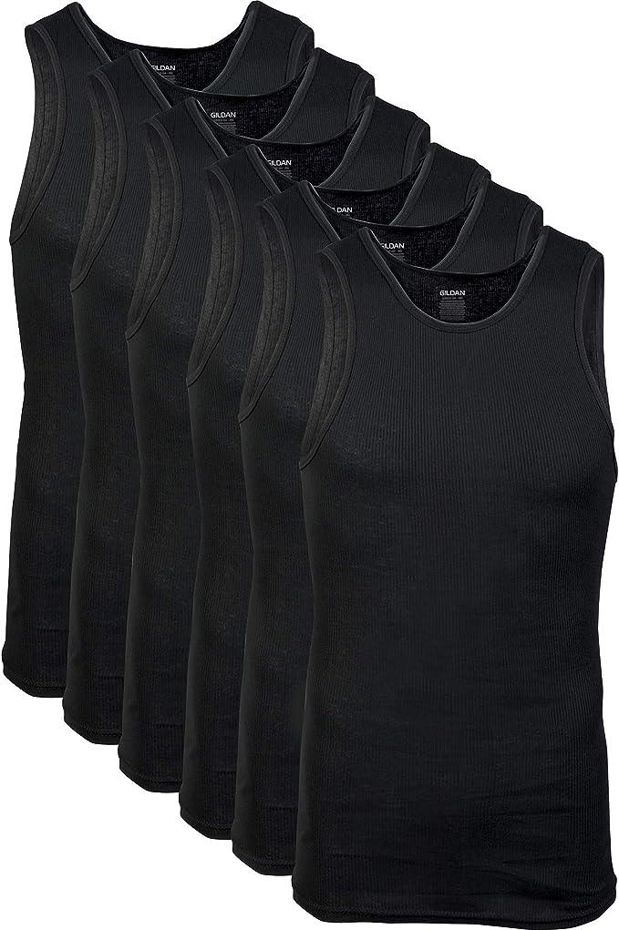 Gildan Men's A-Shirts Tanks Multipack   Amazon