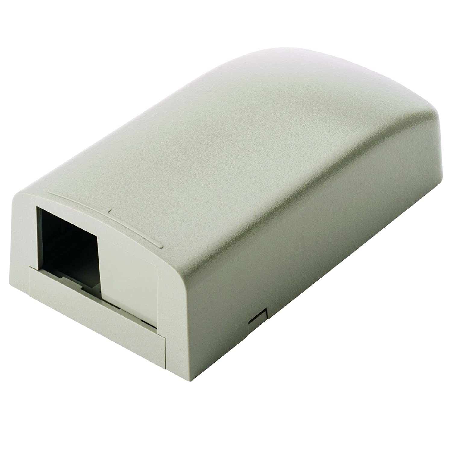 Panduit CBX2IG-AY 2-Port Surface Mounting Box for LD3//LDP3//LD5//LDP5 Fitting International Grey