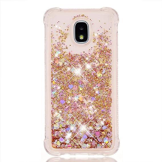 premium selection 3f6ad 69aa1 Amazon.com: Galaxy J7 2018 Glitter Case,J7 Star/J7 Aero/J7 Top/J7 ...