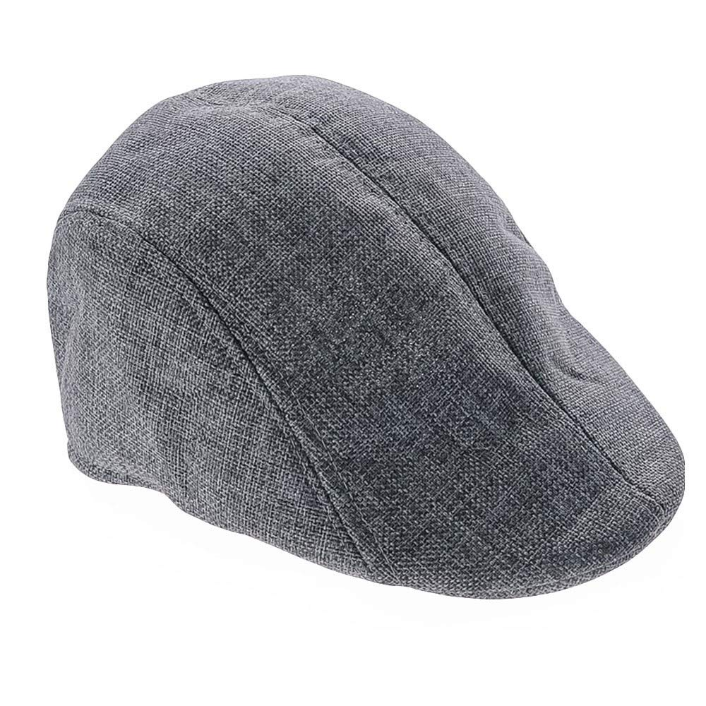 AMSKY Hat for Baby Boy 3-6,Men Women Solid Winter Cap Solid Ear Protector Beret Slouchy Hat,Surf Skate /& Street Hats /& Caps