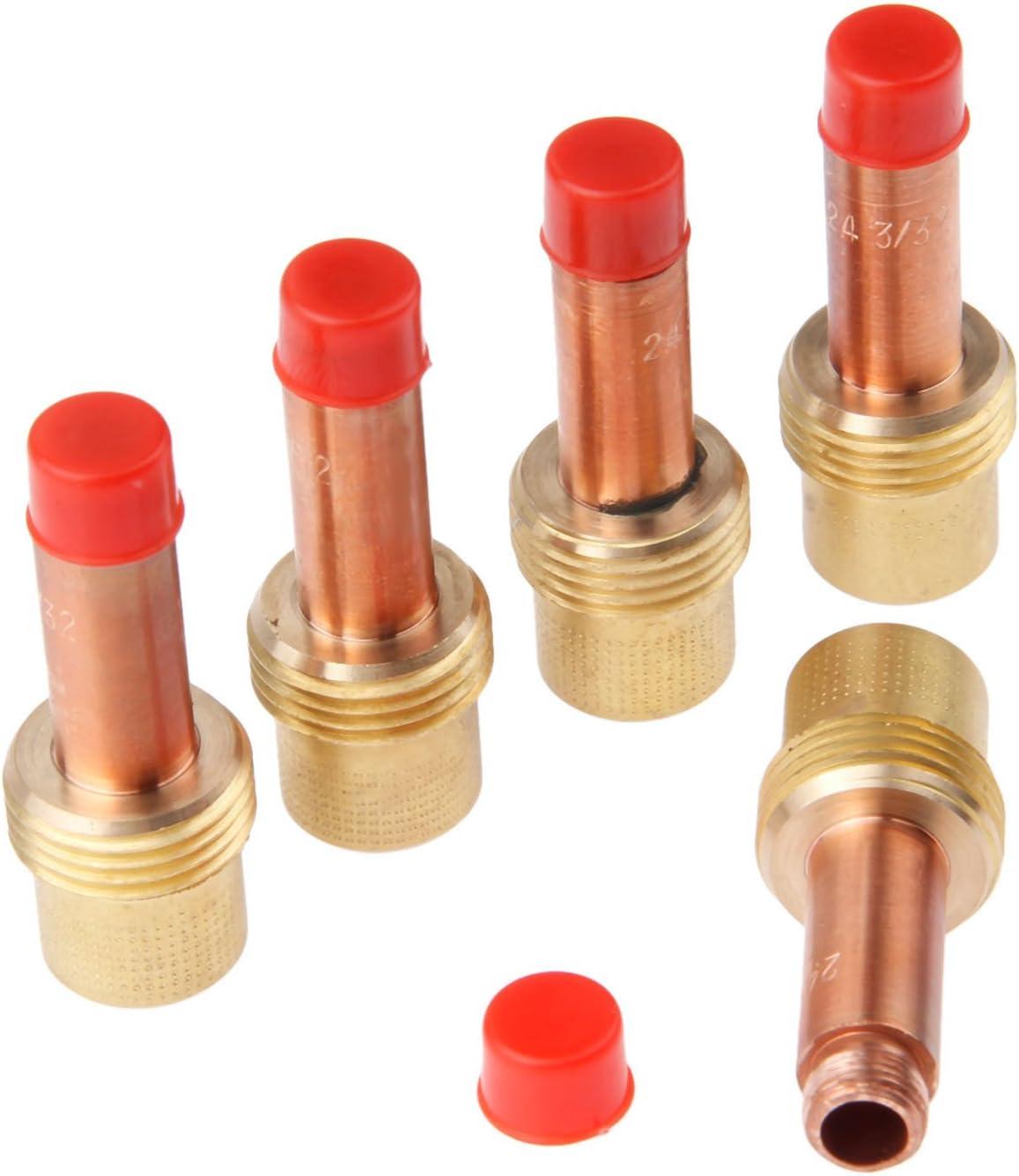 10 pcs 45V26 Tig Welding Gas Lens Collet Bodies Mtsooning 3//32inch