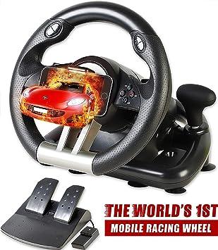 Serafim R1+ Volante de Carreras para Xbox One, PS4, PC, Switch ...