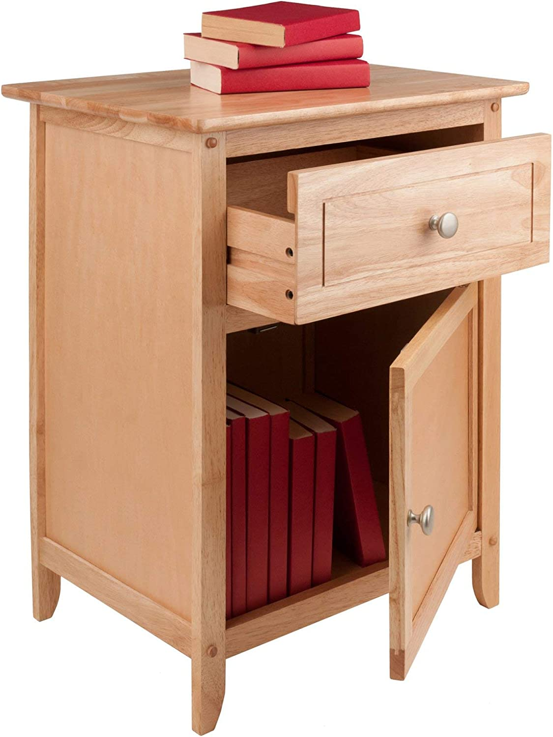 Winsome Wood Henry Accent Table, Natural