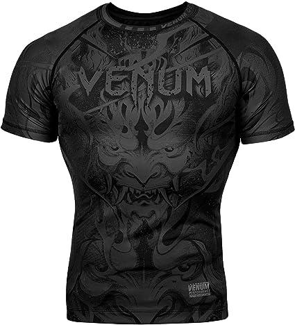 Venum Gladiator 3.0 Rashguard Short Sleeves Black Black